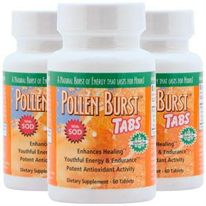 Picture of Pollen Burst™ Tabs - 60 Tablets (3 Pack)